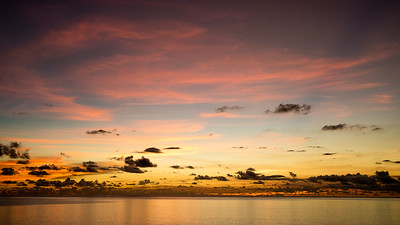 Sunset from Mahe