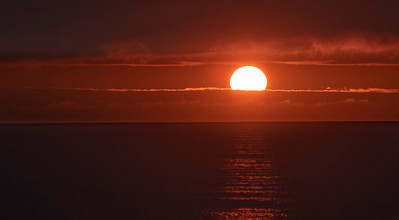 Spring Sunrise over Block Island Sound