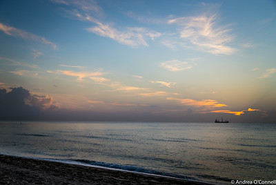 Sunrise at Fort Lauderdale Beach IV