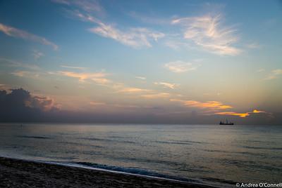 Sunrise at Fort Lauderdale Beach IV