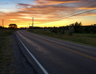 shot with iphone while taking a walk (Brickyard Road, Canandaigua)