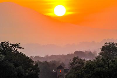 sunrise with light in window 2-