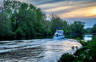 Erie Canal near Fairport NY