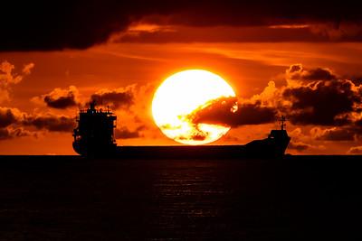 Ft.Lauderdale Beach Sunrise on June 3, 2016