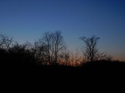 April 29 Sunset, Full Moon