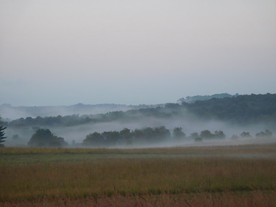 August 25 morning mist