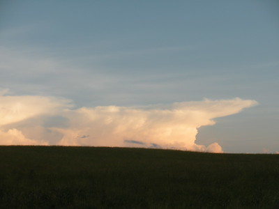 June 17, thunder clouds