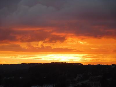Somerset Sunrise, Hospital Roof