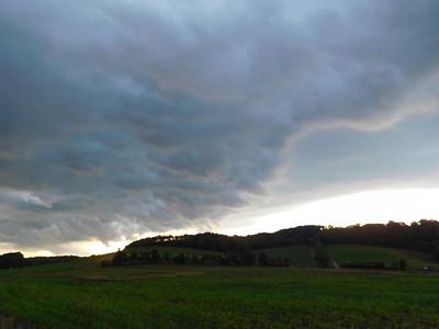 Stormy Sunset July 2018