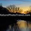Sunset on Jordon Creek, N. Whitehall Twp, PA - 2