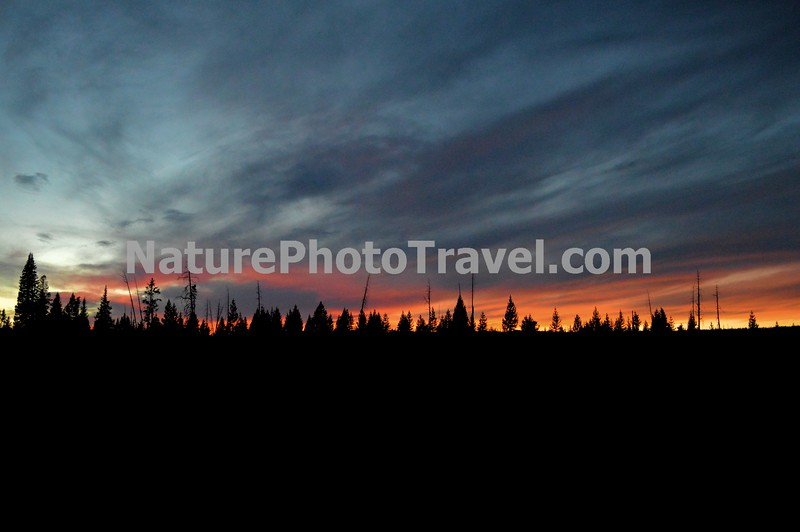 Yellowstone Sunset - 2