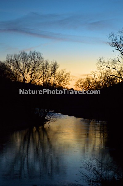 Sunset on Jordon Creek, N. Whitehall Twp - 3