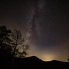 The Milky Way in Shenandoah National Park