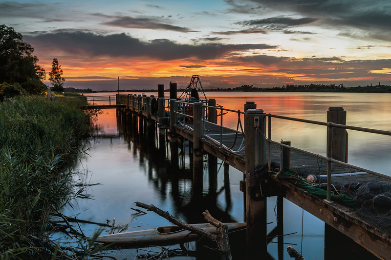 Raymond Terrace Jetty Sunset