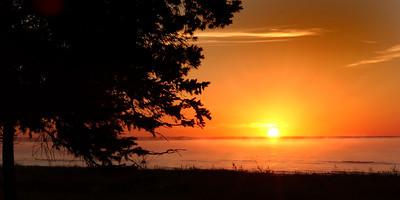 Lake Michigan Sunrise - Naubinway