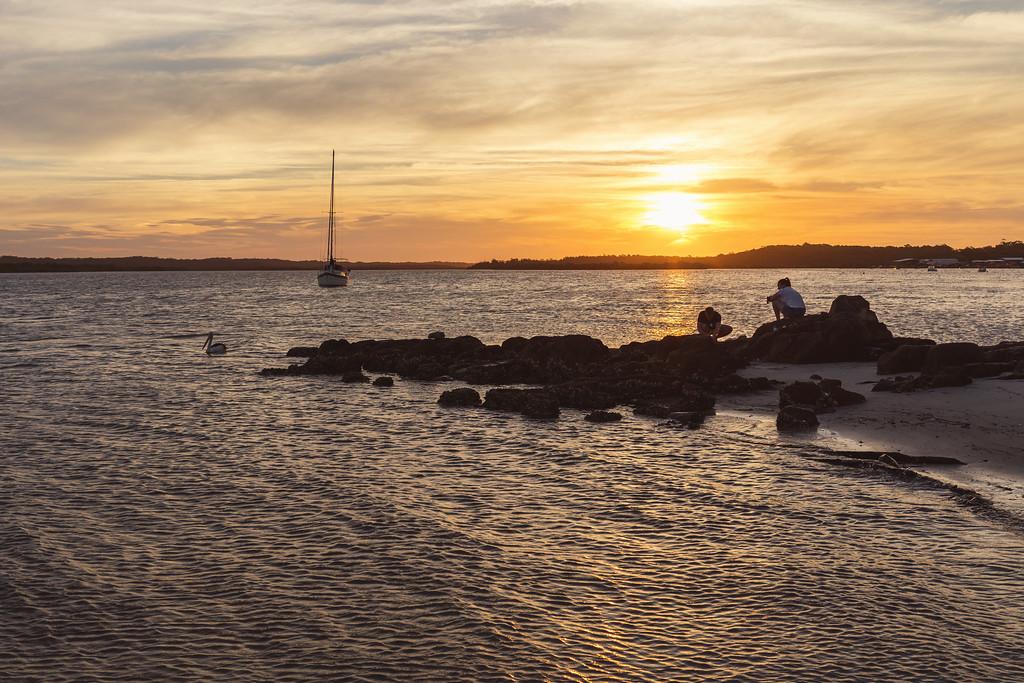 Gibber Point Sunset