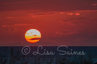 Ball of Fire Sunset