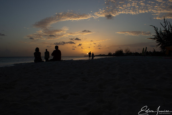 Sundown at Carlisle Bay Barbados