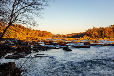 James River, soon after sunrise