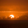 Sunset on Mariner of the Seas, 12/26/06, Somewhere off the coast of Cuba enroute to St Thomas, USVI