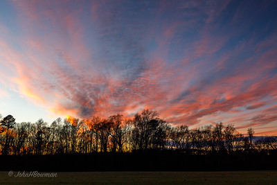 Sunset Afterglow - James City County