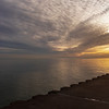 Sunrise from the break wall near the McKinley Marina [20191205]