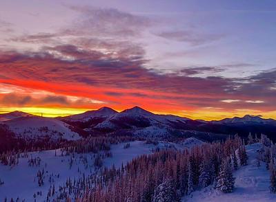 Red Dawn, Monarch Mountain, CO