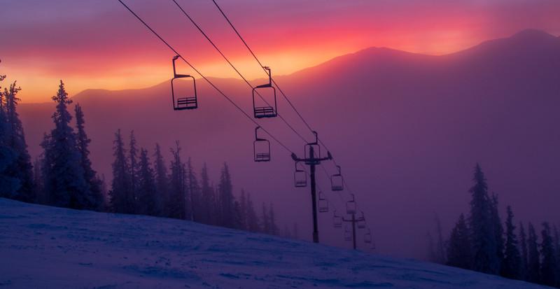 Ghost Chair, Monarch Ski Area, CO