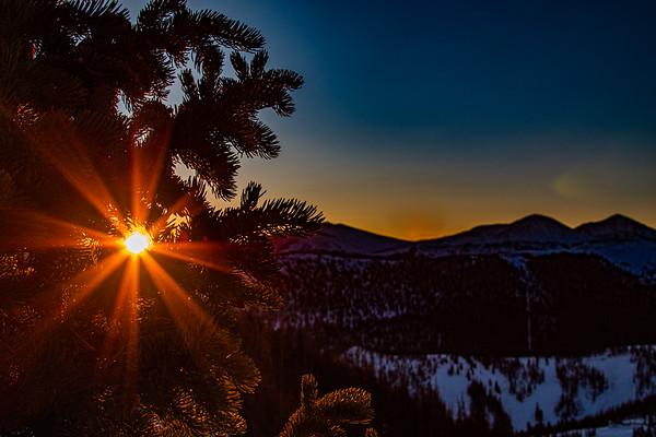 Sunburst, Monarch Mountain, CO