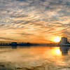 Sunset with Milwaukee Skyline