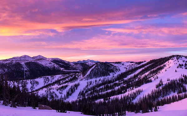 First Light, Monarch Mountain, CO