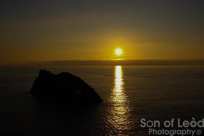Boscastle Sunset