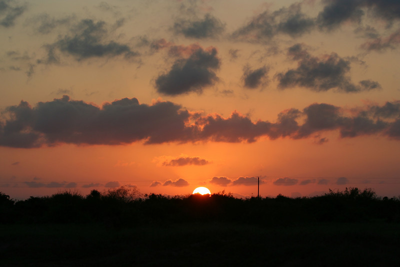 Sunset in the Rio Grande Valley