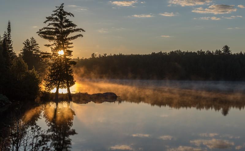 Sunrise in Algonquin Provincial Park