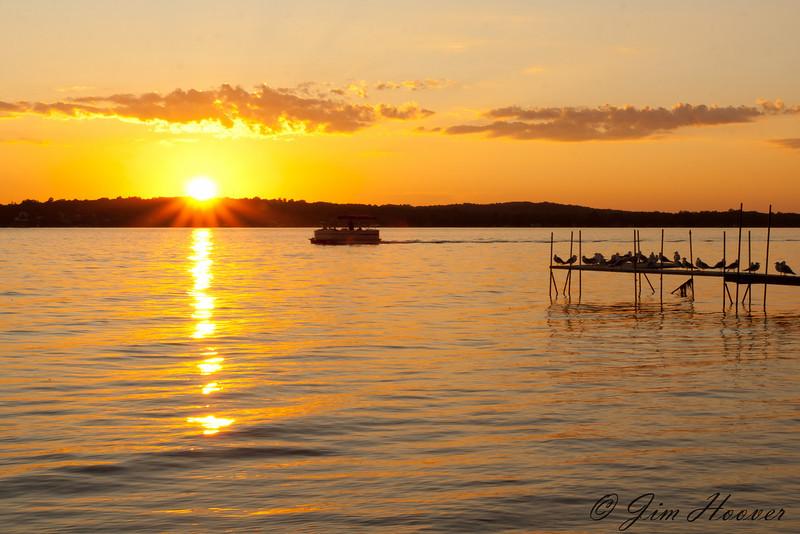 Sunset on Lake Chautauqua