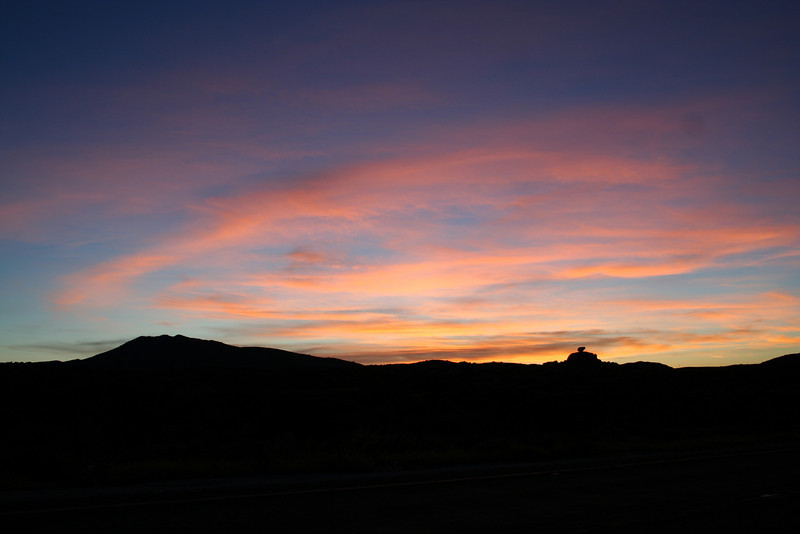 Sunrise on my way to the Salton Sea.