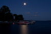 Moonrise over Lake Chautauqua