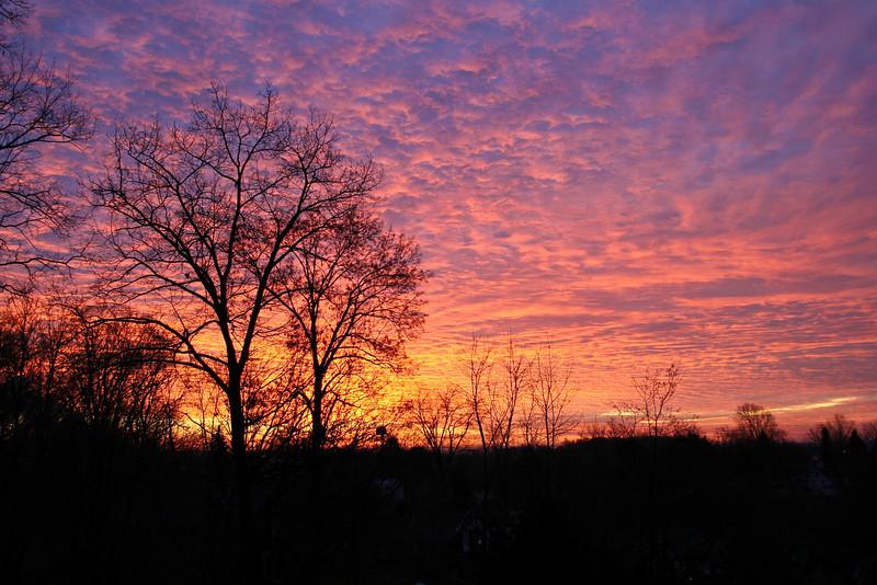 Sunrise in Western PA
