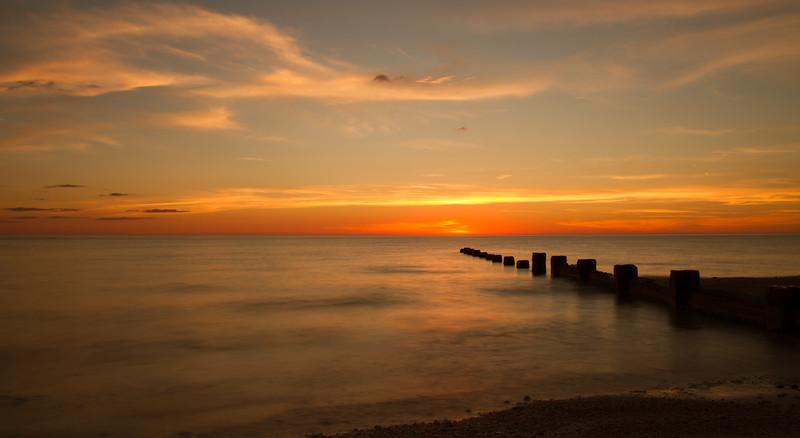 Sunset at Honeymoon Island