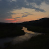 Sunset Over the Niobrara River, Nebraska