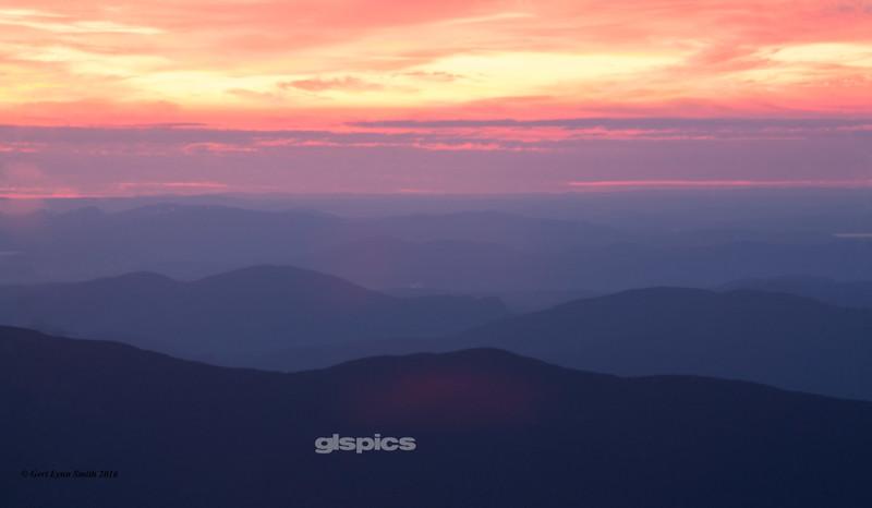 Sunrise on Mount Washington