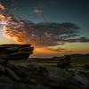 Sunrise at Toadstool Geologic Park in northwestern Nebraska