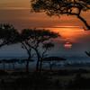 Sunrise in Masai Mara, Kenya, East Africa