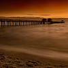 Sunset over the Naples Pier, Naples, Florida
