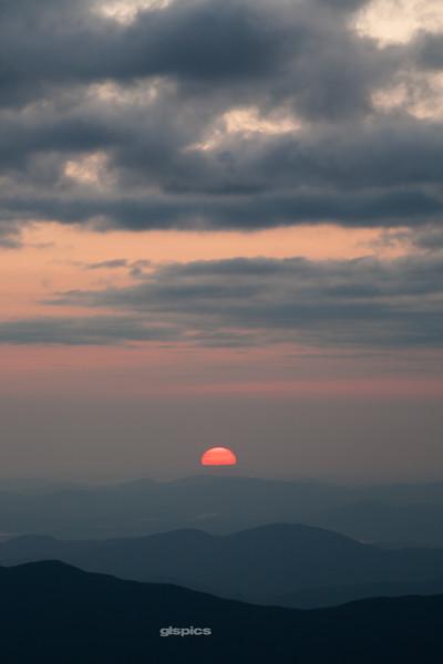 Sunrise from Mt Washington