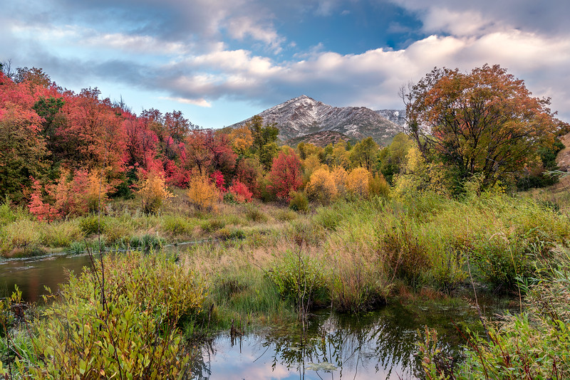 Wasatch Front Fall at Sunrise