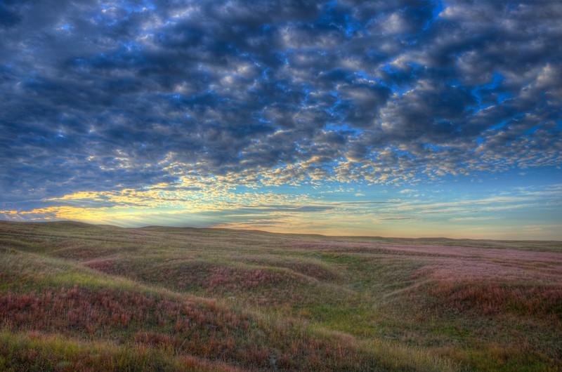 Sunrise Over the Nebraska Sandhills