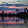 Sunset at Mrazek Pond, Everglades National Park, Florida