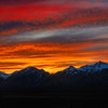 Sunset over the Teton Range, Grand Teton National Park, Wyoming