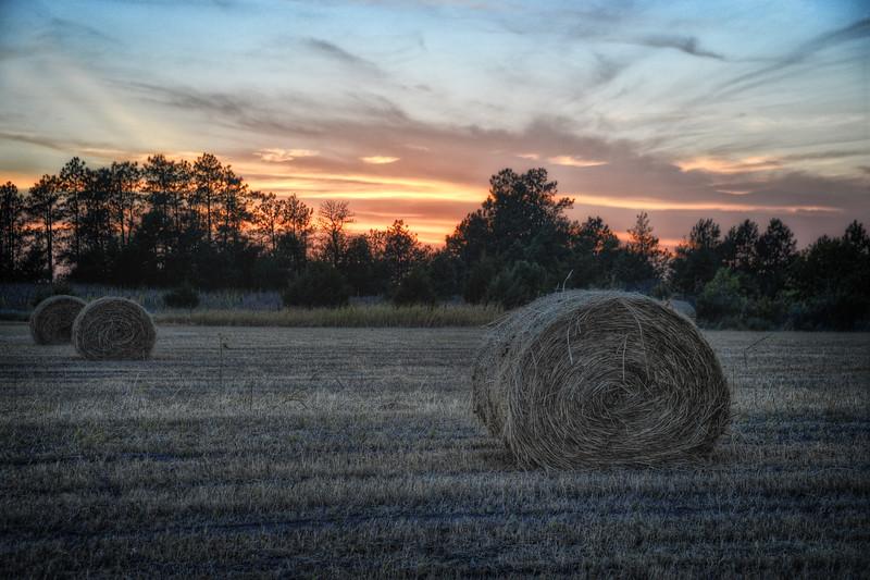 Sunset in Cherry County, Nebraska